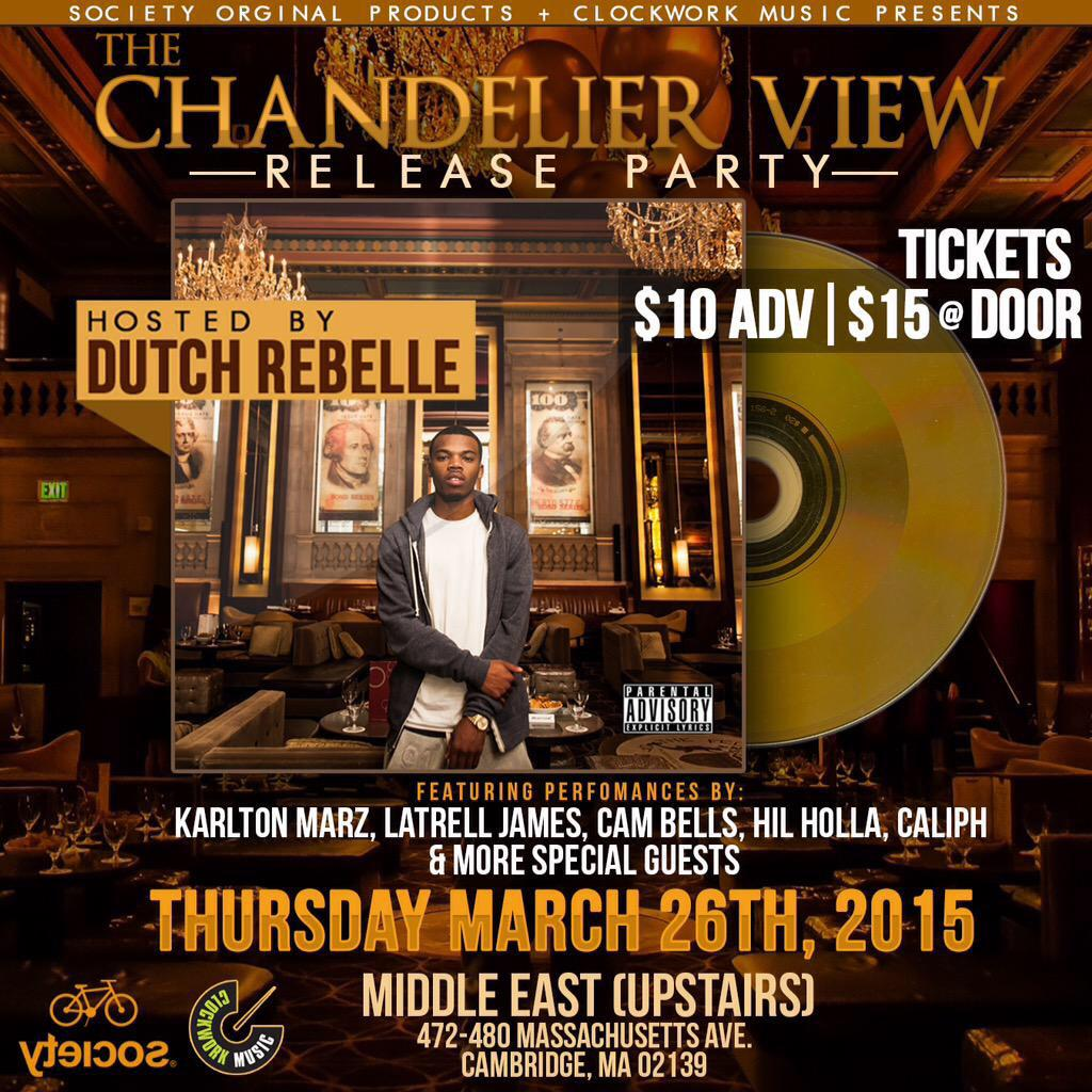 The Chandelier View Release Party